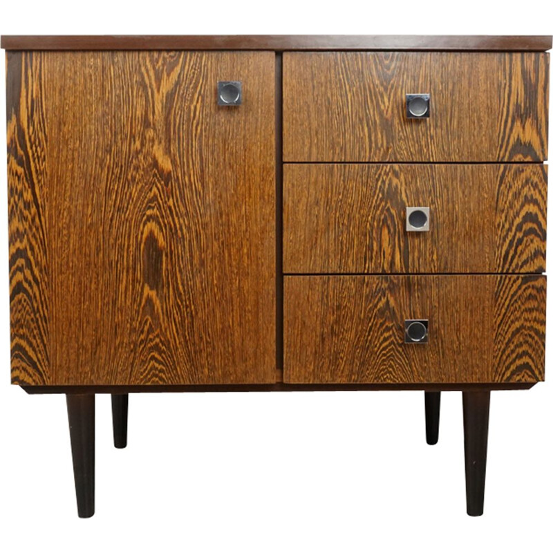 Vintage chest of drawers in Wenge 50-60s