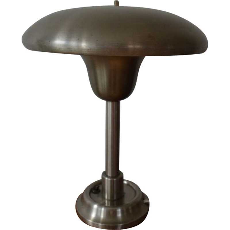Vintage Bauhaus table chrome lamp