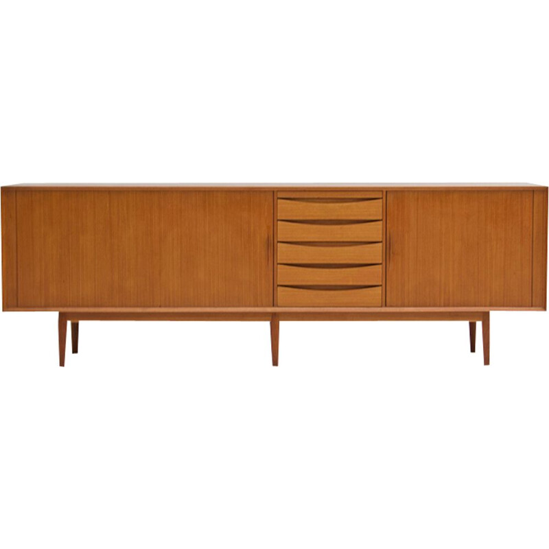 Long danish vintage sideboard by Arne Vodder,1960