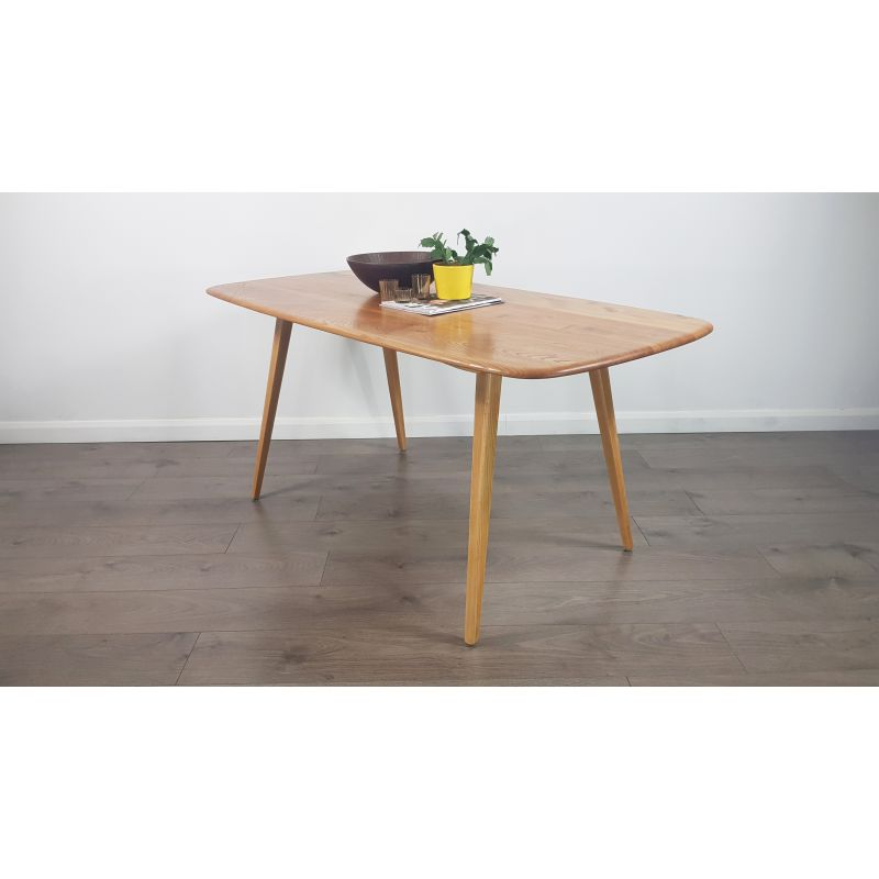Vintage Dining Table In Elm By Lucian Ercolani For Ercol 1960s Design Market