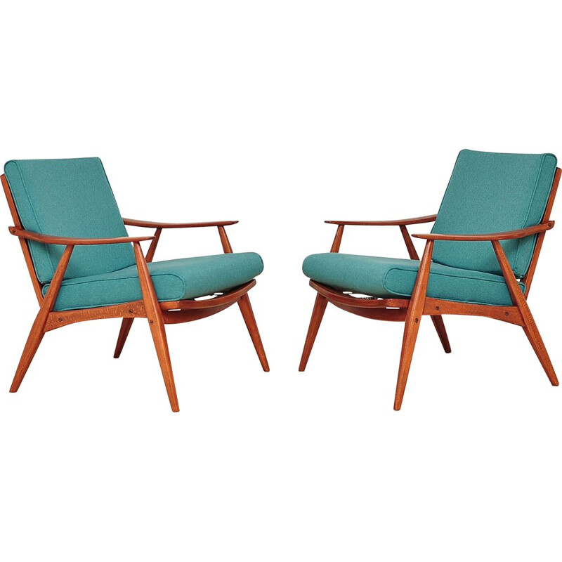 Set of 2 vintage Armchairs 1960s