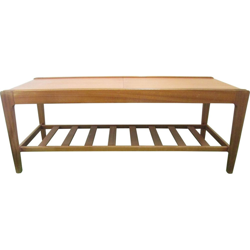 Extendable coffee table in teak by Remploy