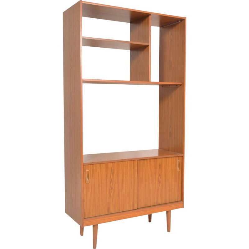 Vintage danish bookcase in formica 1970