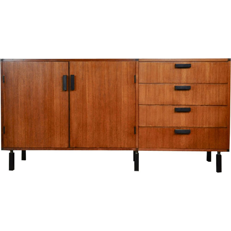 Vintage dutch sideboard in teak 1970