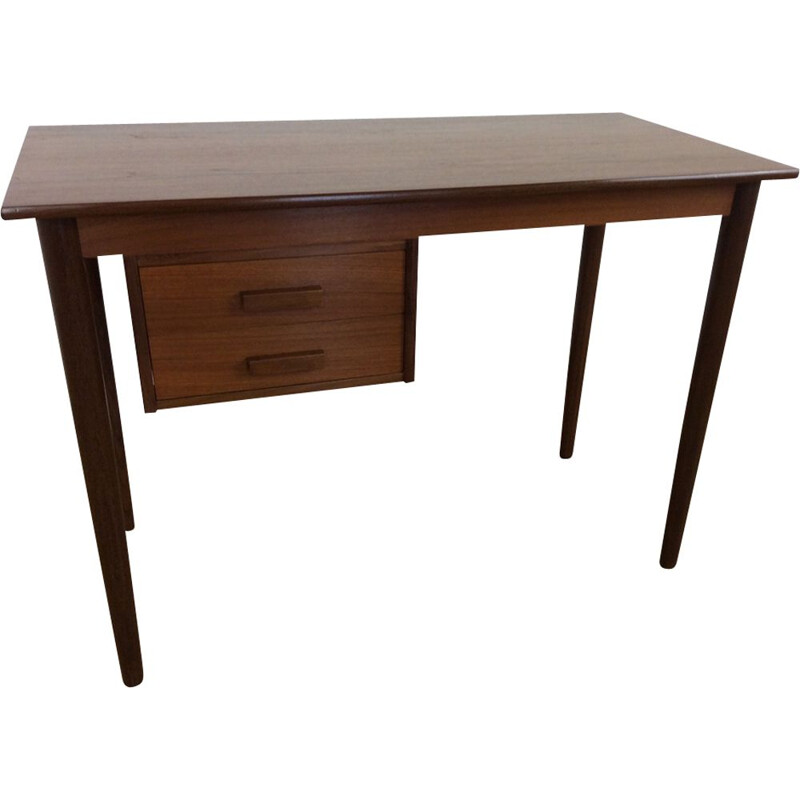 Vintage desk in teak by VI-MA Mobler, Danish, circa 1960
