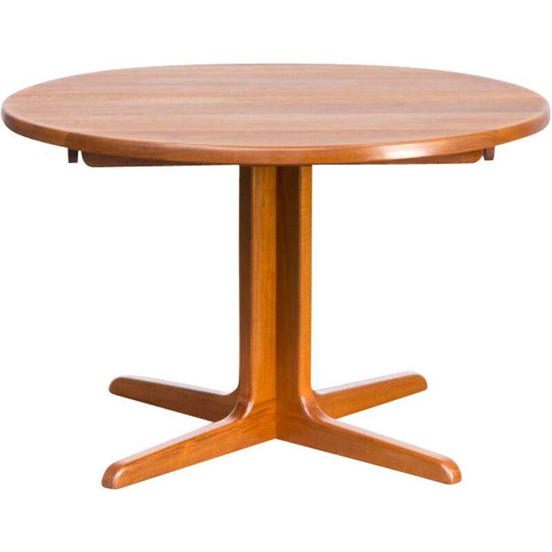 Vintage dining table, extendable, Niels Bach, 1960s