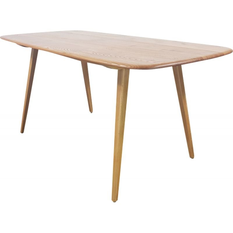 Vintage Dining Table in elm by Lucian Ercolani for Ercol, 1960s