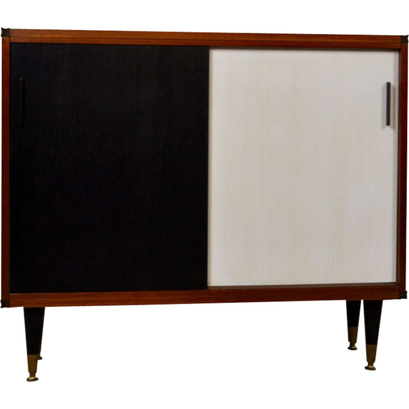 Vintage sideboard in teak by cees braakman for Pastoe 1960s