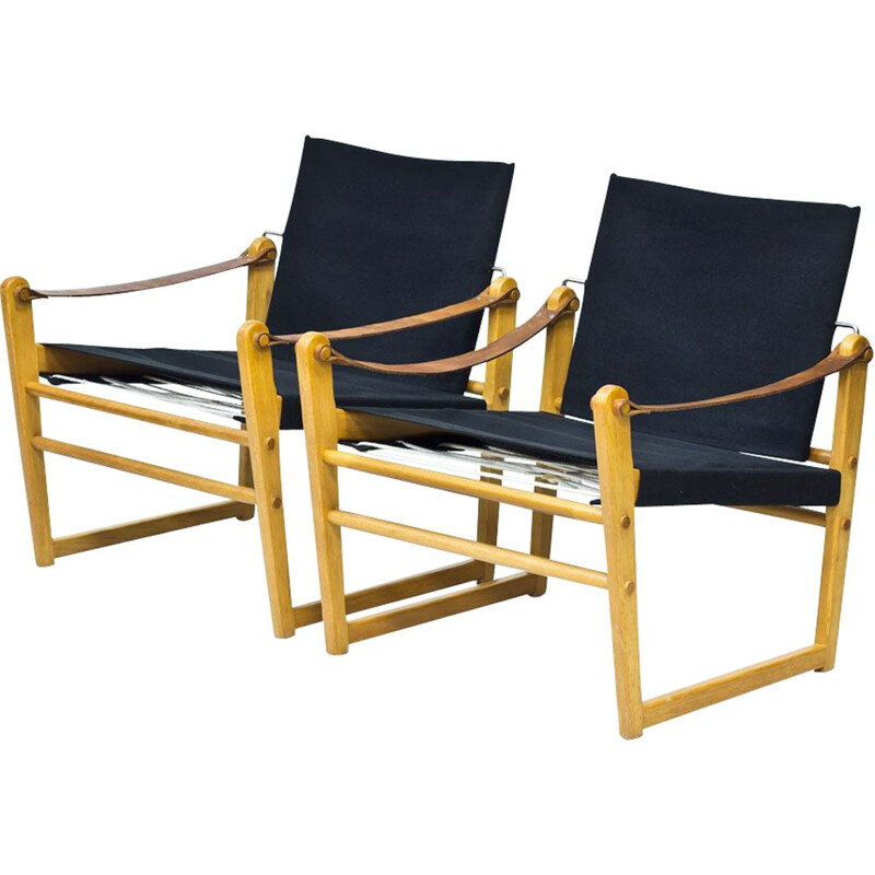Pair of vintage Easy Chairs Cikada by Bengt Ruda for Ikea, Sweden, 1960s
