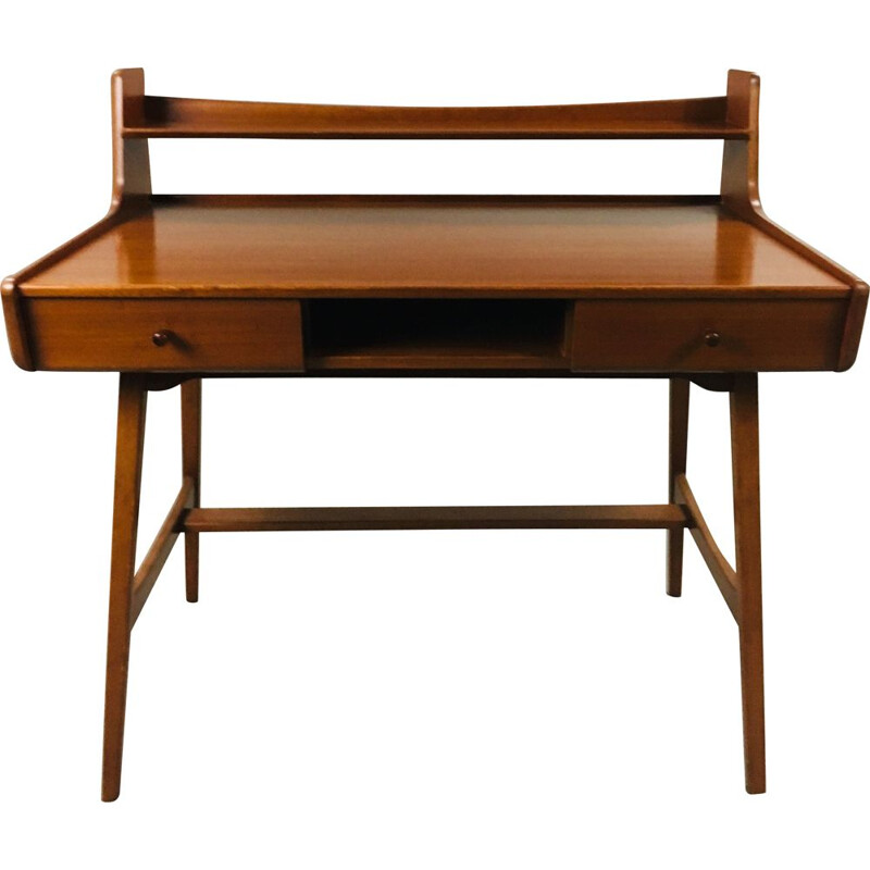 Vintage desk by Jacques Hauville for Bema , 1960s