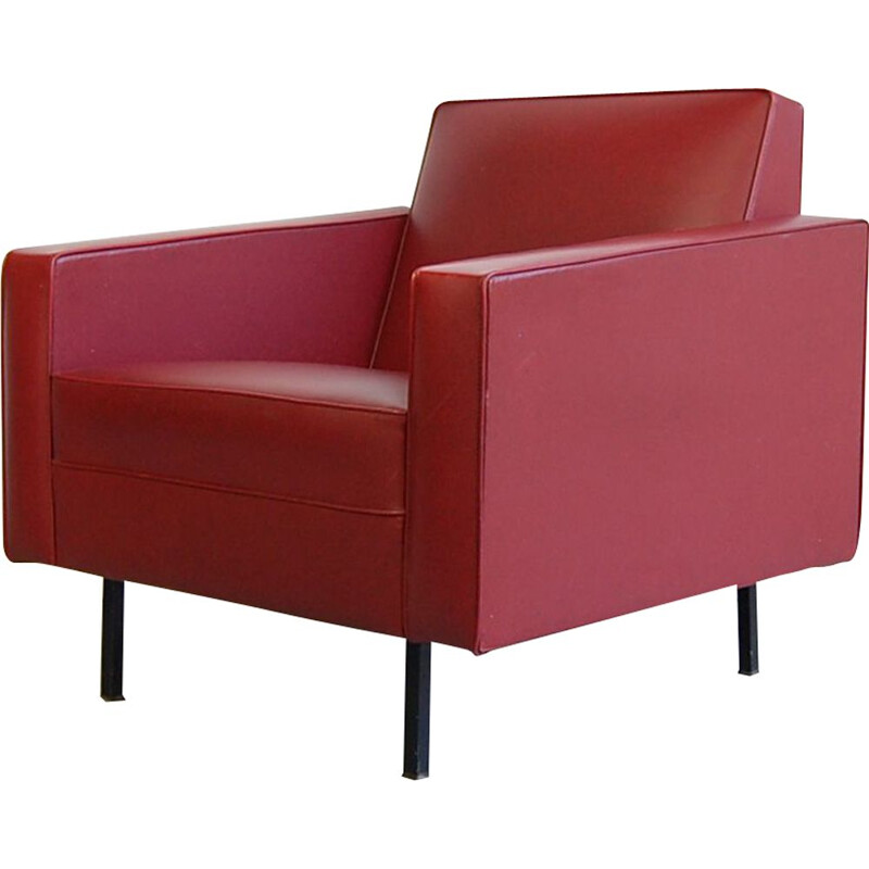 Vintage armchair Rijmenam by Pierre Guariche for Meurop , 1965