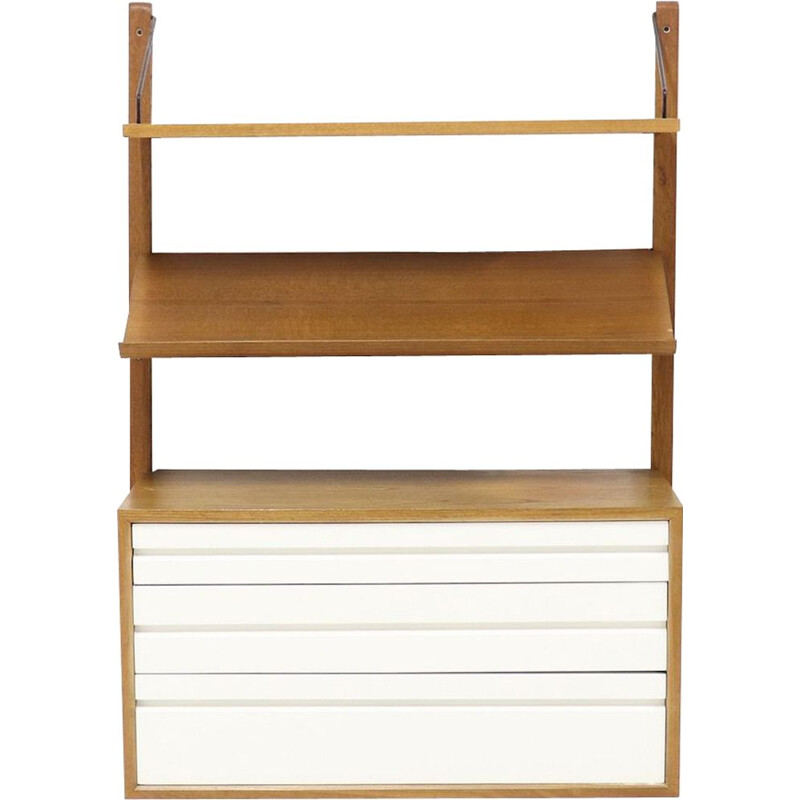 Vintage shelf in teak Royal System by Poul Cadovius for Cado, Denmark, 1960s