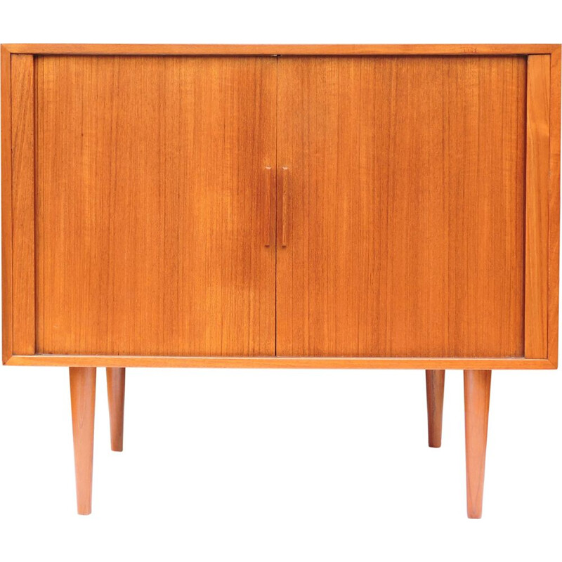 Vintage sideboard in teak by Kai Kristiansen for Fm Møbler, Danish, 1960s