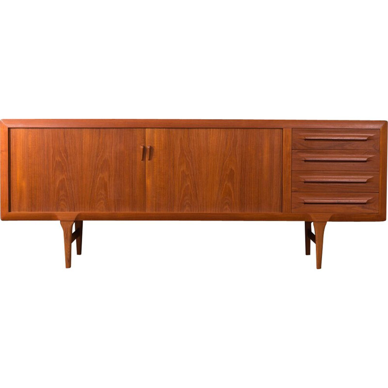 Vintage scandinavian sideboard for Faarup in teakwood 1960