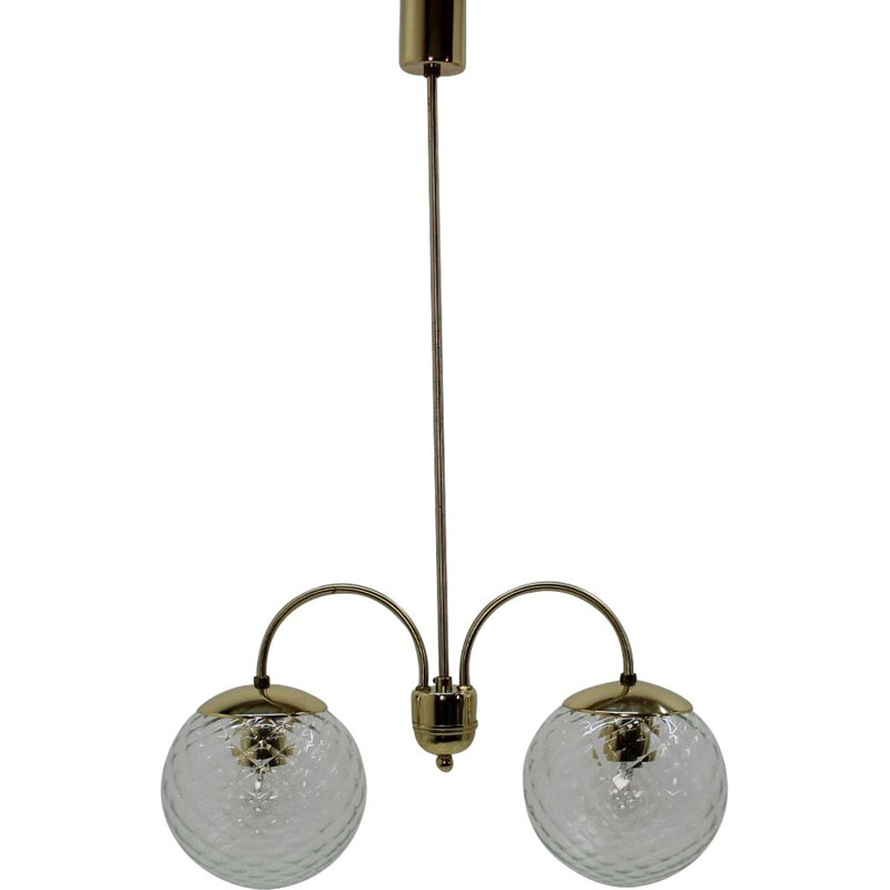 Vintage Czechoslovakia pendant light,1960