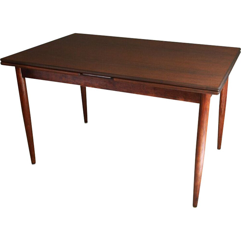 Vintage extendable dining table in rosewood,1960