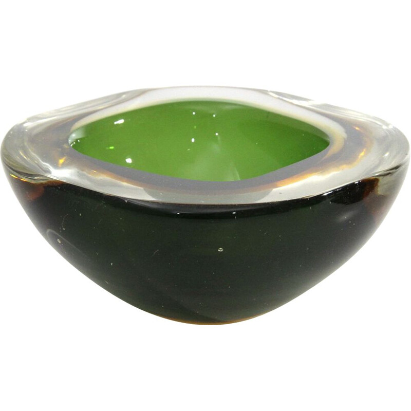 Vintage bowl in murano glass, Italian , 1950s