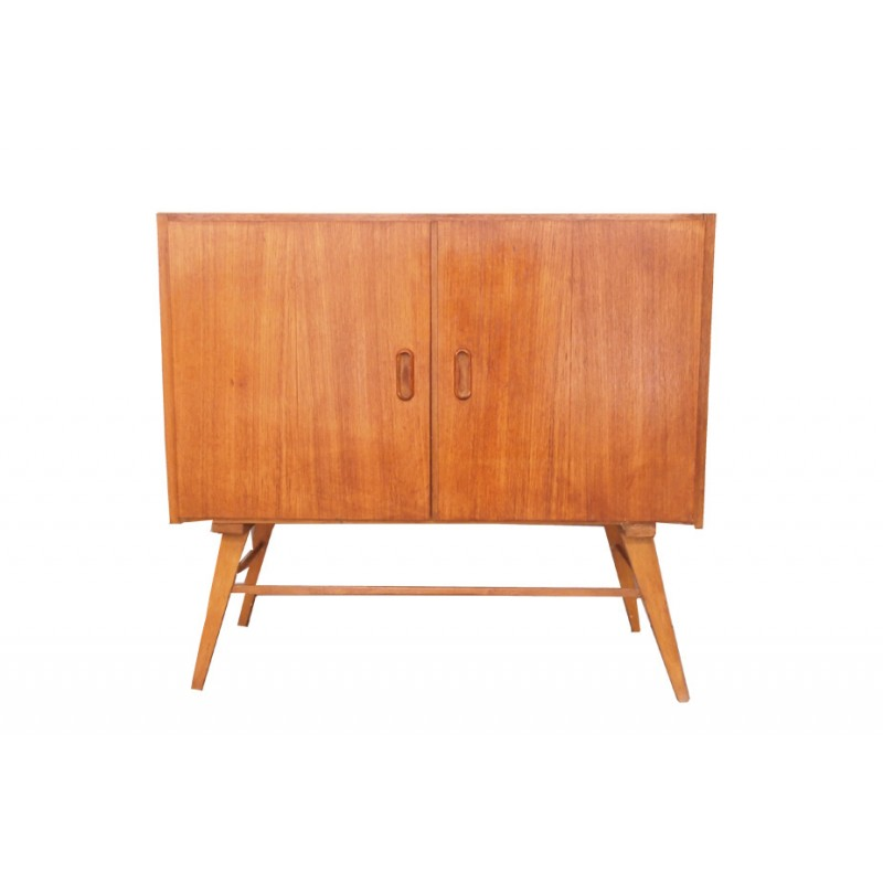 small vintage cabinet in teak 1950s - Meuble Design Vintage