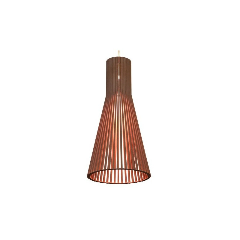 Aspiro Finnish hanging lamp in birch - 2000s