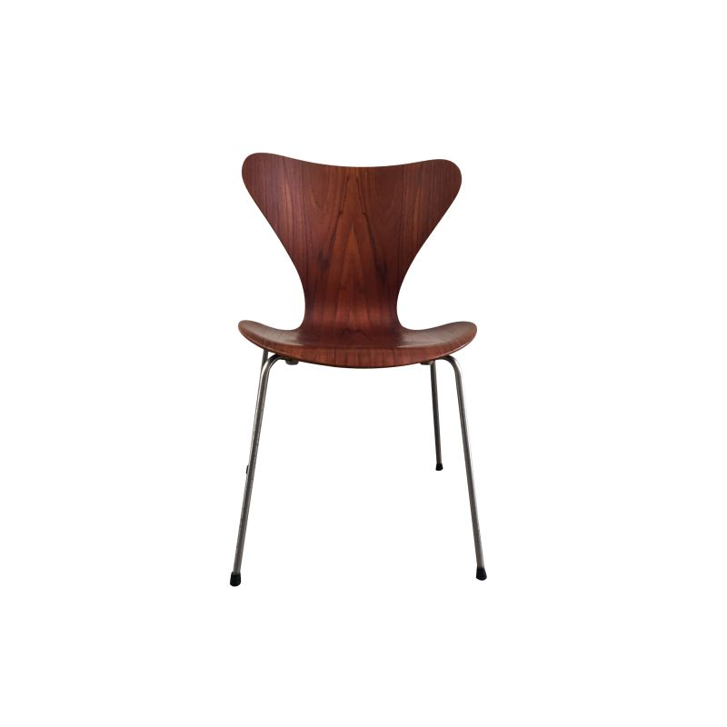 Vintage teak dining chair by Arne Jacobsen,1960