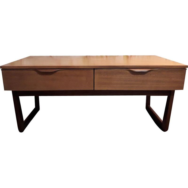 Vintage console in teak by G-Plan