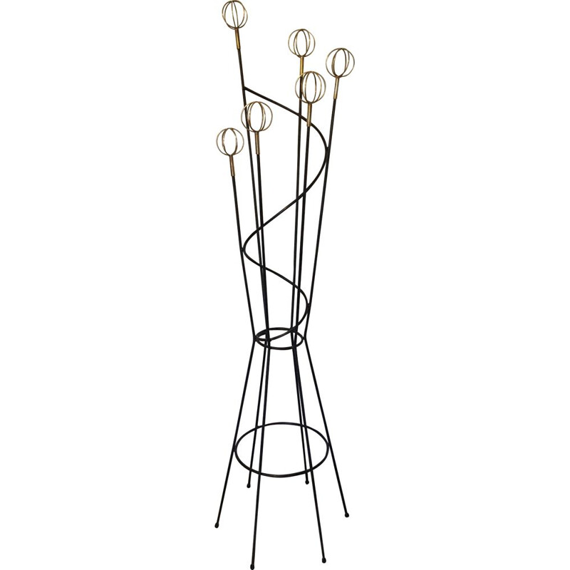 Vintage coat rack by Roger Feraud