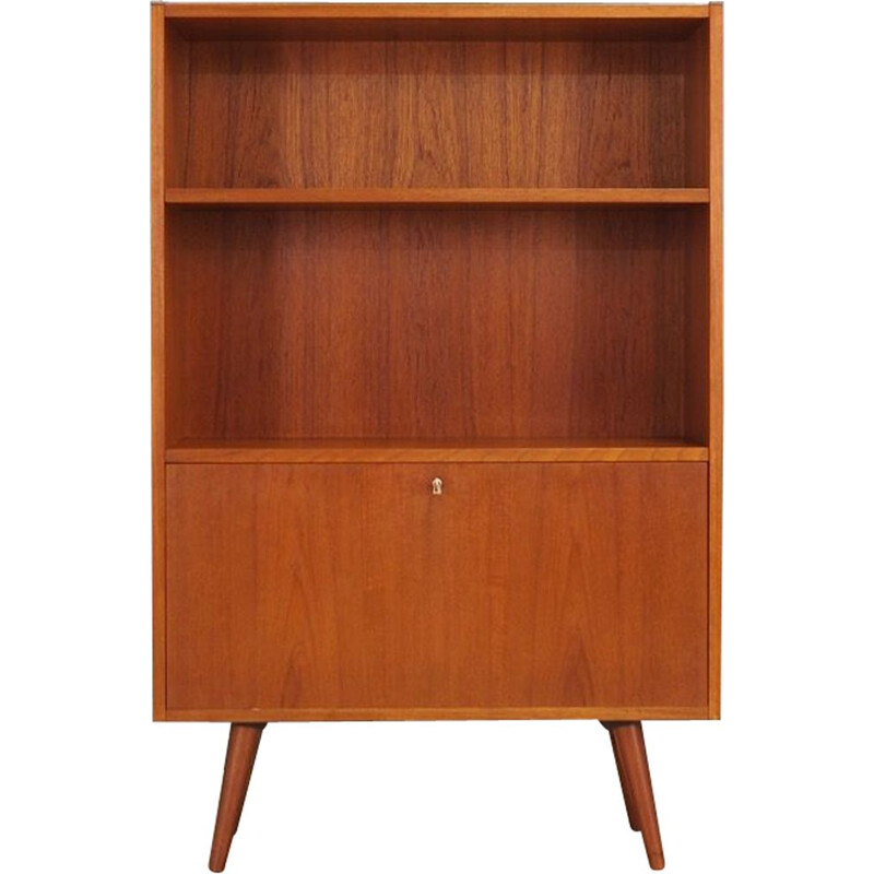 Vintage Scandinavian bookcase in teak from the 60s