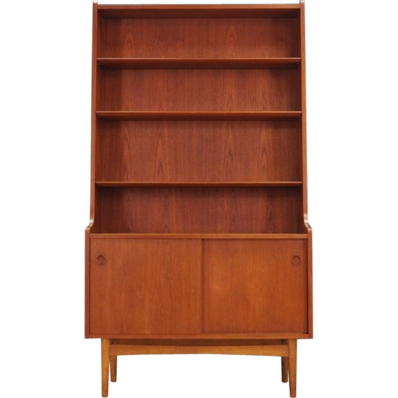 Vintage  bookcase in teak by Johannes Sorth from the 60s