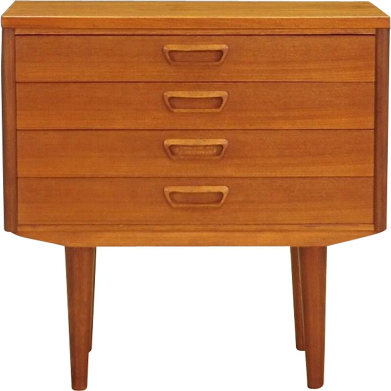 Vintage chest of drawers in teak from the 60s