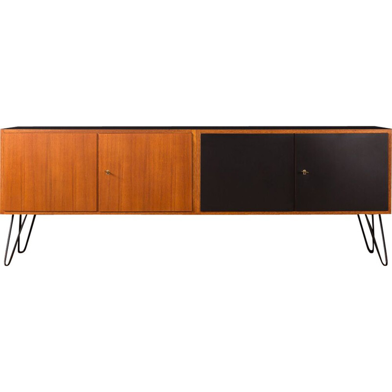 Vintage sideboard in teak, Germany, 1950s