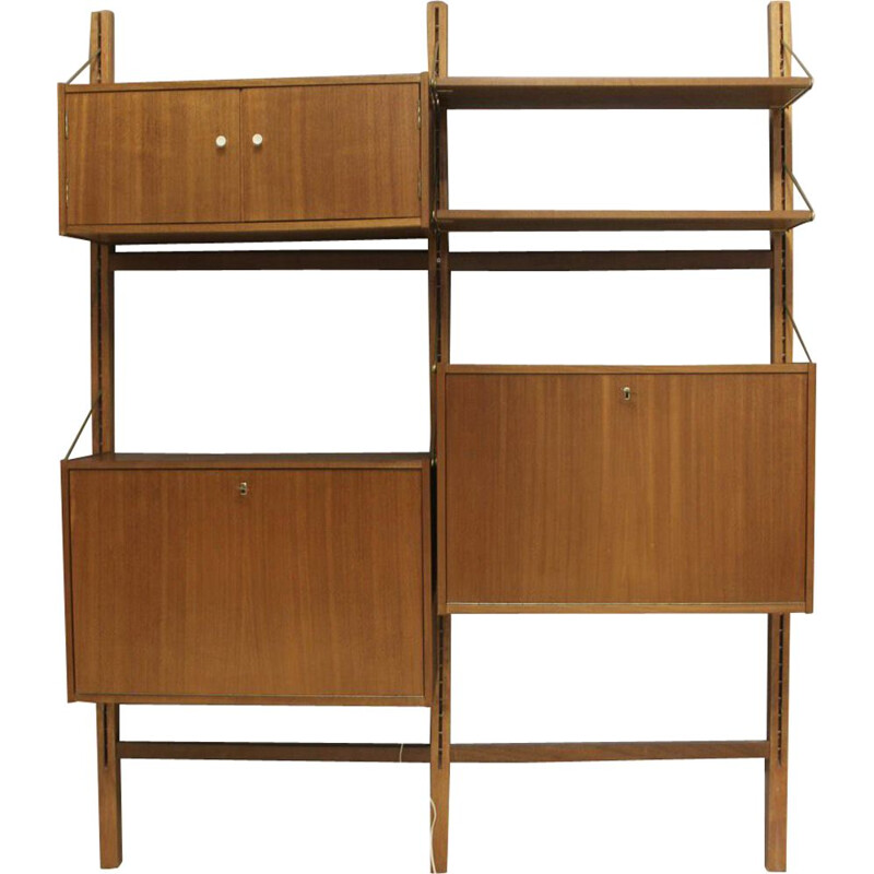 Vintage Scandinavian  wall unit from the 60s
