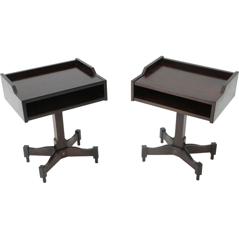 Set of 2 vintage night stands by Claudio Salocchi for Sormani, 1960s