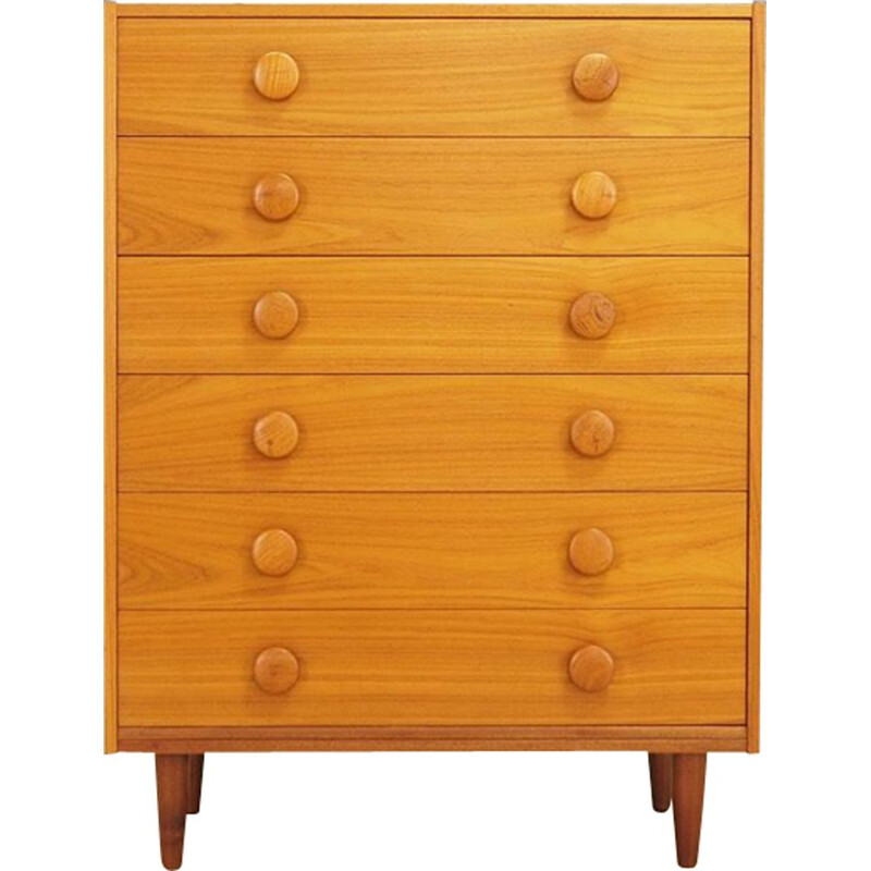 Vintage chest of drawers in teak, Danish, 1960s - 1970s