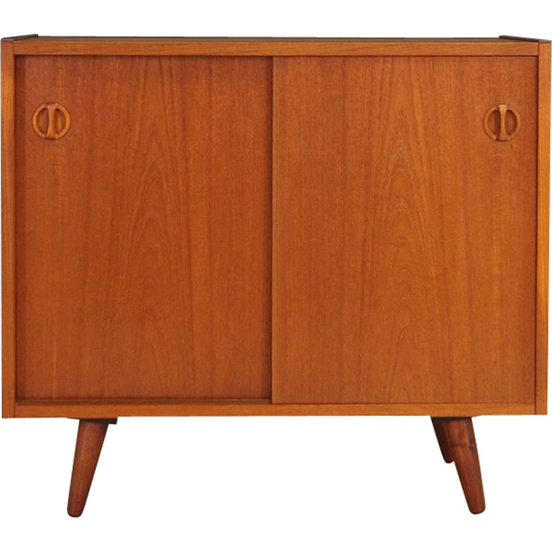 Vintage sideboard in teak, Danish, 1960s - 1970s
