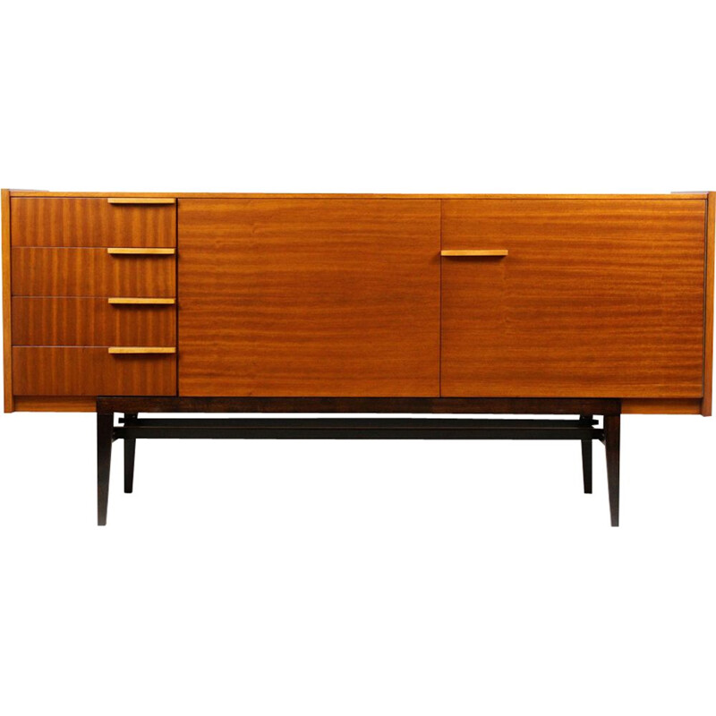 Vintage Sideboard by František Mezulaník for UP Bucovice, 1960s