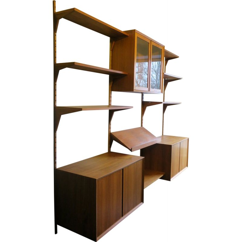 Vintage Shelving Unit Modular by Poul Cadovius for Cado, 1960s