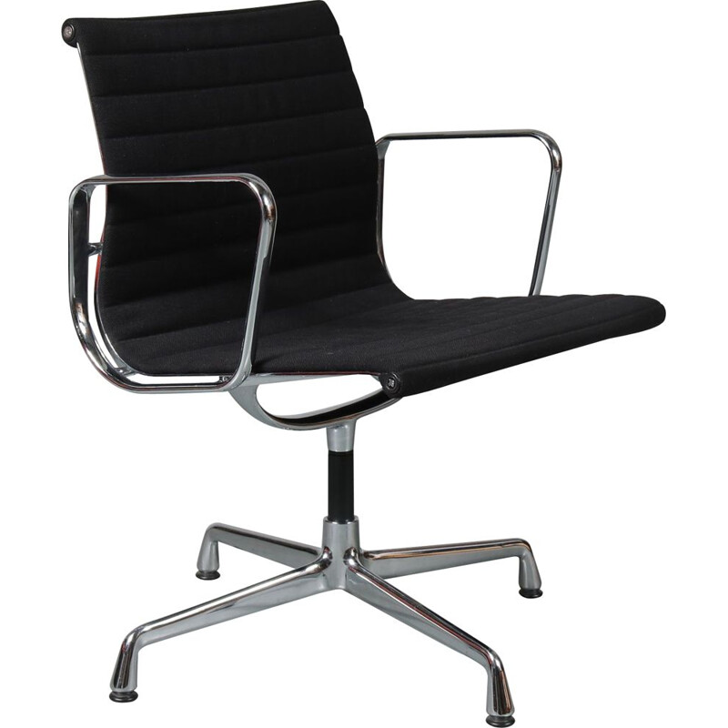Vintage armchair model EA108 by Charles and Ray Eames,1990