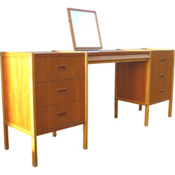 Scandinavian teak dressing table, Bertil FRIDHAGEN - 1950s