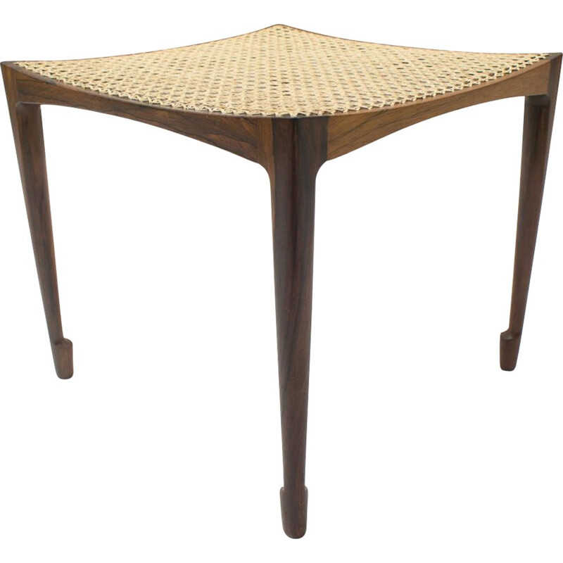 Vintage stool Bernt Petersen for Worts Mobelsnedkeri, Denmark 1959