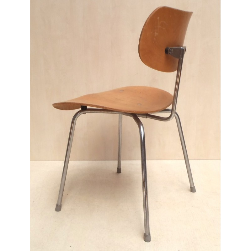 6 Dining Chairs Se 68 Egon Eiermann 1951 Design Market