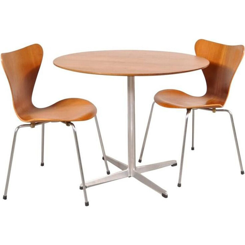 Vintage dining set by Arne Jacobsen by Fritz Hansen