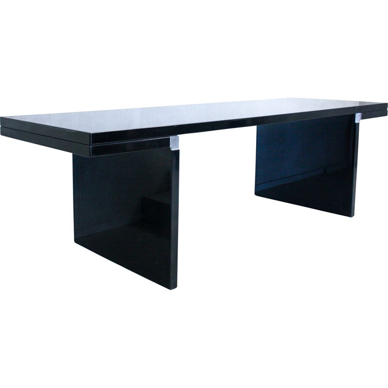 Black Orseolo Dining Table by Carlo Scarpa for Cassina, 1970