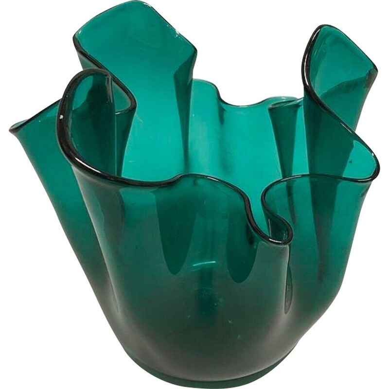 Vintage italian vase in Murano glass 1950