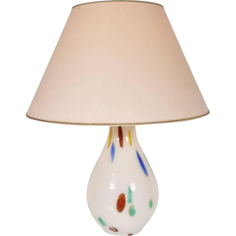 Vintage table lamp in Murano Glass by Dino Martens and Aureliano Toso,1960