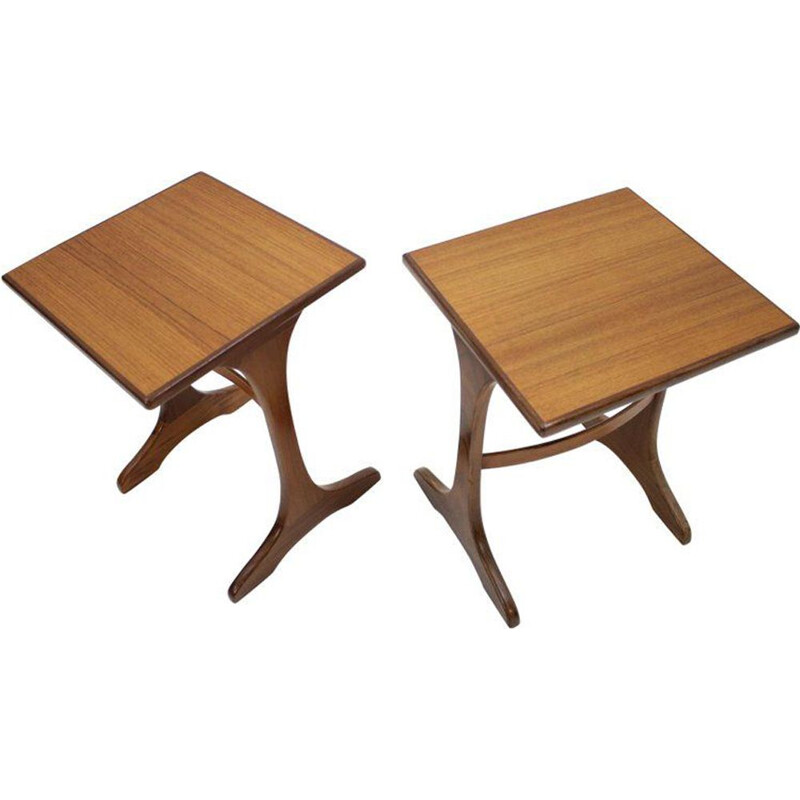 Pair of tables G-Plan Victor Wilkins Denmark