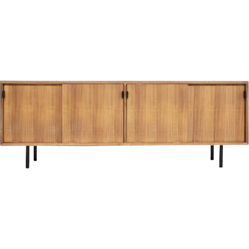 Vintage sideboard in Walnut by Florence Knoll for Knoll International Editor 60s