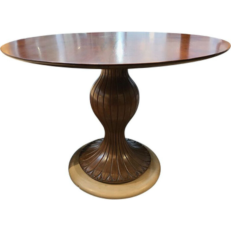 Vintage Table Osvaldo Borsani Italy 1960