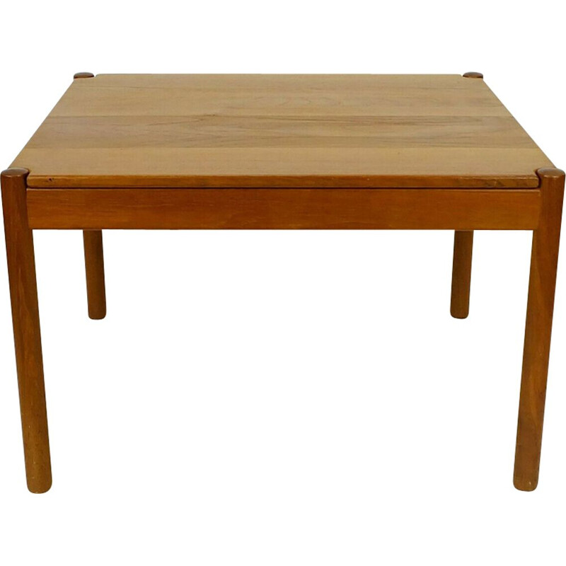 Vintage coffe table in teak magnus olesen denmark
