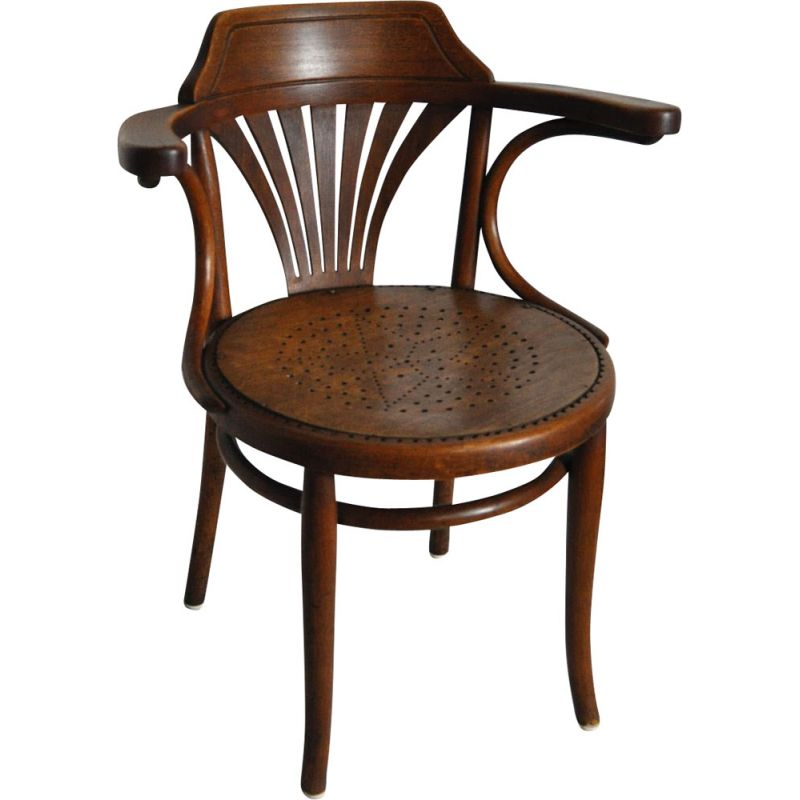 Vintage chair model nr. 233 by Thonet in bentwood