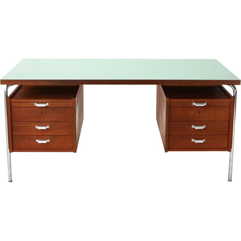 Vintage desk in Teak with Formica Top 1960s